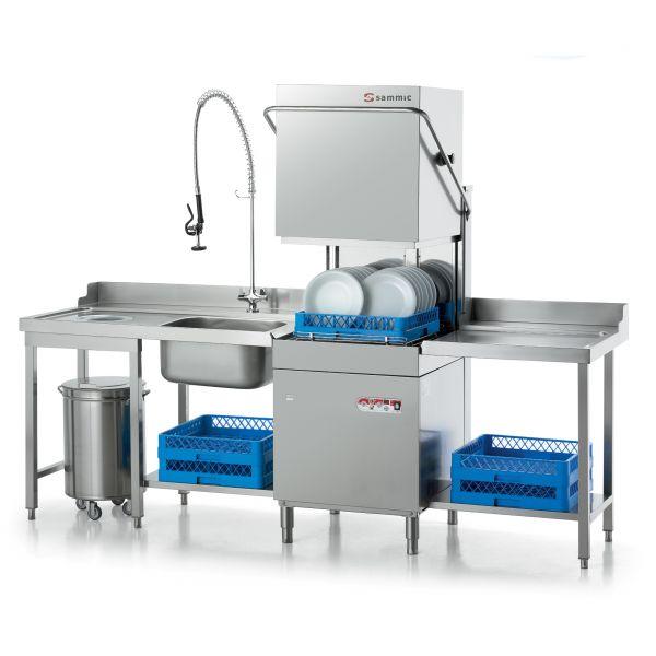 Cocina intermedia un buen uso lavavajillas industrial - Utensilios de cocina industrial ...